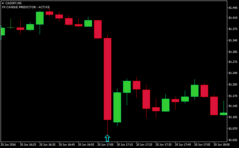 FX CANDLE PREDICTOR : World's Best Forex Next Candle Predictor